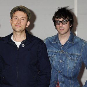 Blur attend the BRIT Awards 2012
