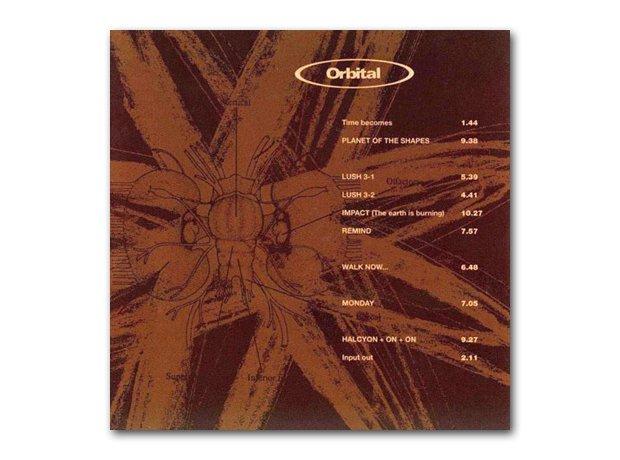 Orbital - Orbital (The Brown Album)