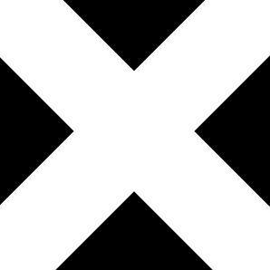 The xx - XX album cover