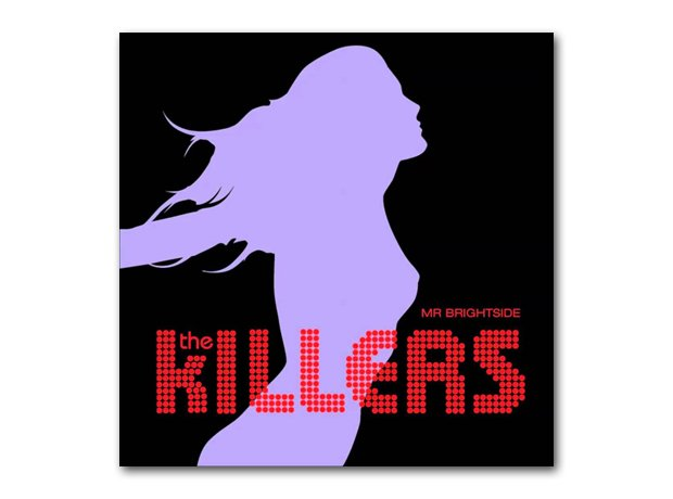 The Killers - Mr Brightside album cover