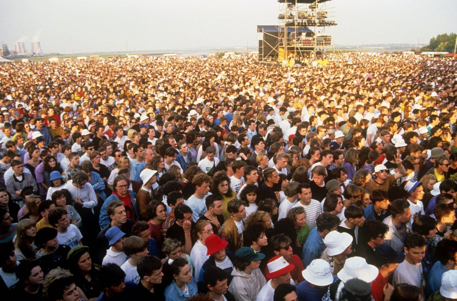 The Stone Roses Spike Island Crowd