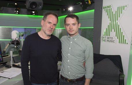 Chris Moyles and Elijah Wood Radio X Global Make S