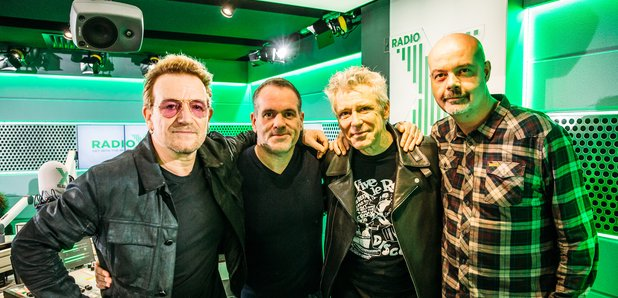 U2 Chris Moyles Show 2015