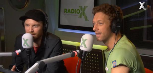 Coldplay Radio X