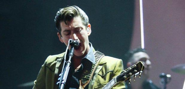 Alex Turner of Arctic Monkeys Brits 2014