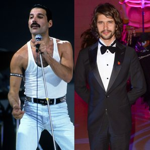 Freddie Mercury and Ben Whishaw
