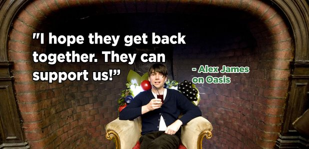 Alex James quote Oasis