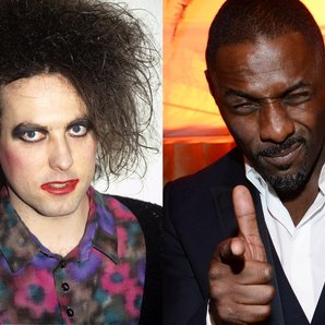 Robert Smith The Cure Idris Elba
