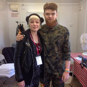 Jack Garratt and Sunta Templeton at Glastonbury 20