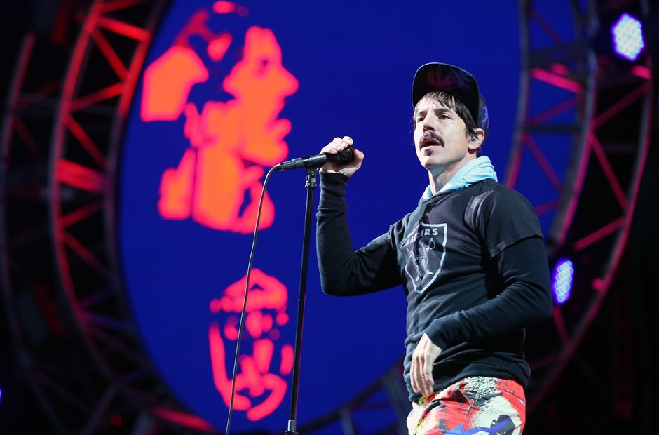 Red Hot Chili Peppers at T In The Park 2016