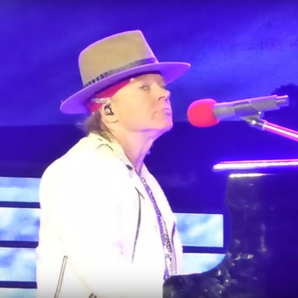 Axl Rose Guns N' Roses Novemeber Rain Piano Failed