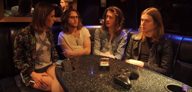 Blossoms and Hattie Pearson Interview Image