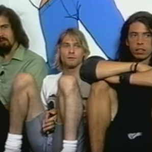 Nirvana 1991 Interview Footage