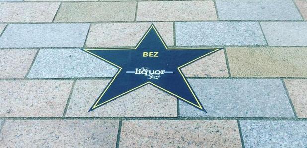 Manchester Walk Of Fame Bez star walk