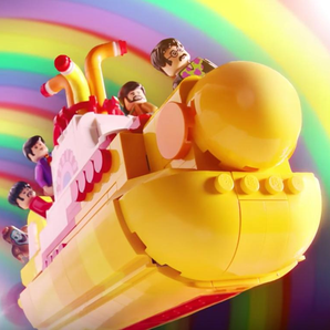 The Beatles Lego Set Yellow Submarine still