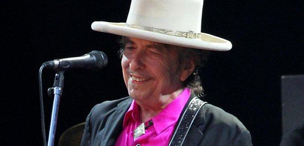 Bob Dylan performing in 2016