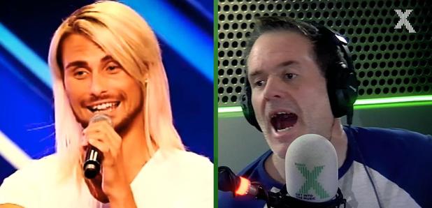 Rylan X Factor audition Chris Moyles Show