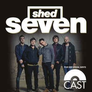 Shed Seven Twitter Announcement