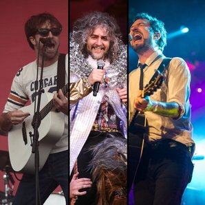 The Vaccines Ryan Jarman, Wayne Coyne The Flaming
