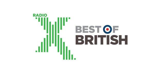 Radio X Best Of British Logo 2017