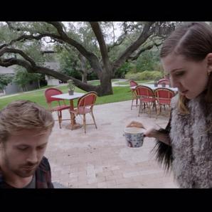 Ryan Gosling and Lykke Li in Song to Song