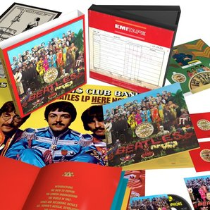 Sgt Pepper 50th Anniversary Edition Deluxe Set
