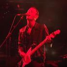 Radiohead's Thom Yorke at Glastonbury 1997