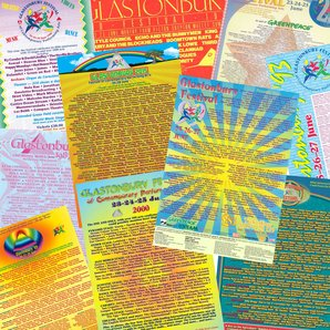 Glastonbury Bills Of Yesteryear