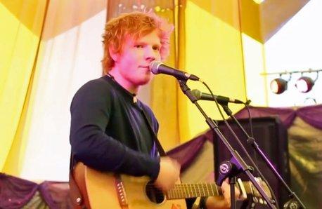 Ed Sheeran Glastonbury 2011