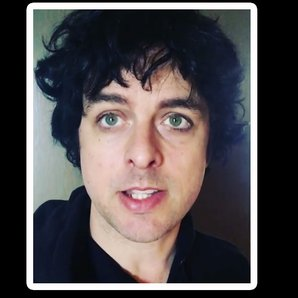 Billie Joe Armstrong posts video on Instagram