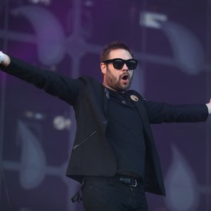 Kasabian's Tom Meighan at TRNSMT 2017