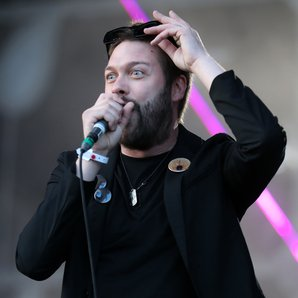 Kasabian's Tom Meighan at TRNSMT Festival 2017