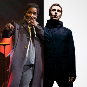 A$AP ASAP Rocky and Liam Gallagher