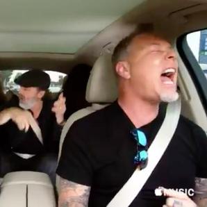 Metallica Carpool Karaoke