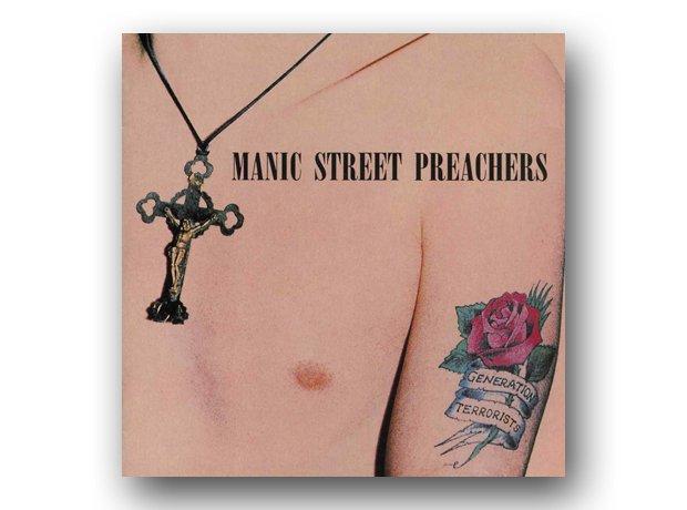 Manic Street Preachers - Generation Terrorists album cover