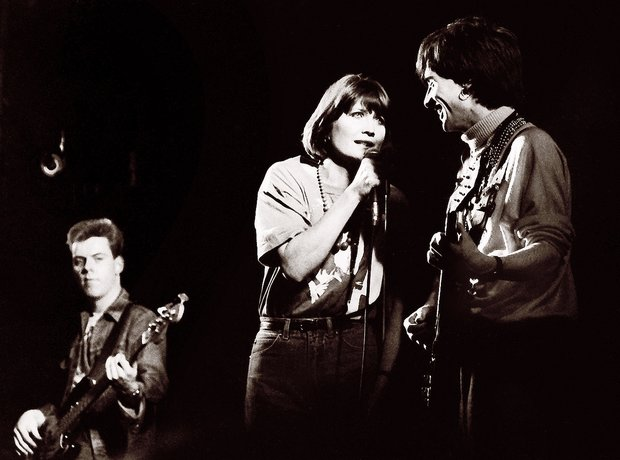 The Smiths with Sandie Shaw