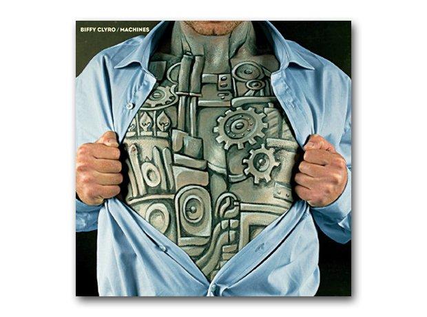 Biffy Clyro - Machines album cover